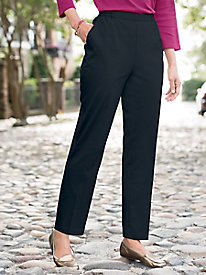 Wool-Touch Pull-On Pants