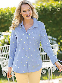 Daisey Embroidered Shirt