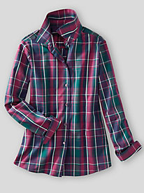 Foxcroft for Appleseed's Aspen Plaid Shirt