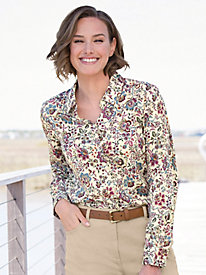 Foxcroft for Appleseed's Jacobean Shirt