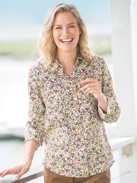 Foxcroft Berries & Branches Shirt