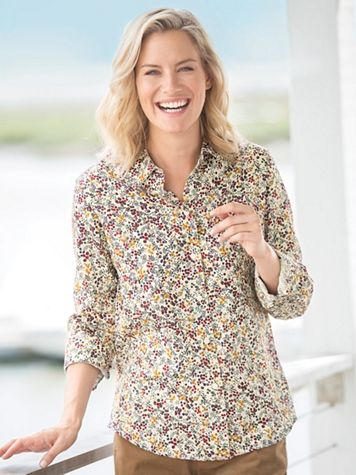 Foxcroft Berries & Branches Shirt - Image 0 of 5