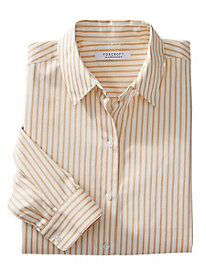 Foxcroft for Appleseed's Classic Stripe Shirt