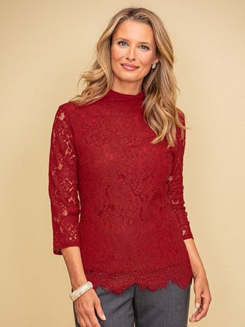 Ruby Lace Blouse - Image 1 of 2