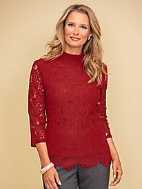 Ruby Lace Blouse