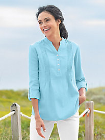 Easy Breezy Pintuck Tunic