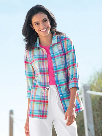 Authentic Madras Plaid Shirt - Image 3 of 3