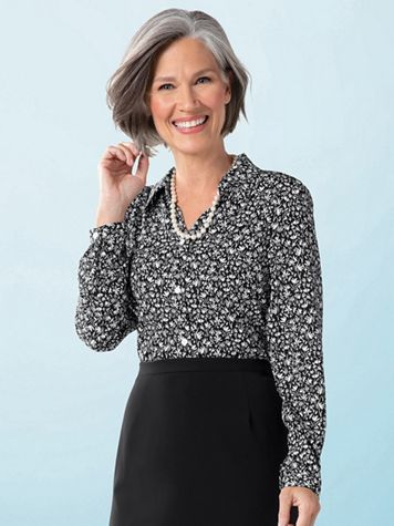 Essential Print Blouse - Image 1 of 1