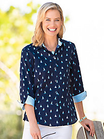 Foxcroft® Set Sail Shirt