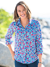 Foxcroft® Spring Floral Shirt