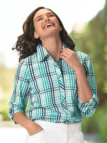 Multi-Colored Gingham Shirt - Image 1 of 4