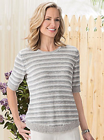 Striped Pullover by Koret