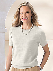 Alfred Dunner Textured Sweater