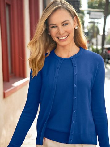 Spindrift™ Soft Cardigan Sweater - Image 1 of 25