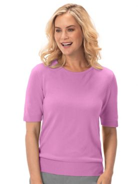 Spindrift™ Soft Short-Sleeve Sweater Shell