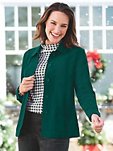 Womens Plus Jackets & Blazers