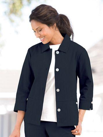 Comfort Crinkle Jacket - Image 1 of 2