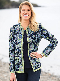 Reversible Jacobean Floral Jacket
