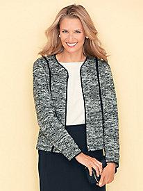 Knit Tweed Jacket