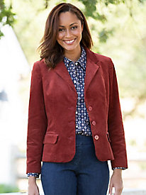 Stretch Pincord Blazer