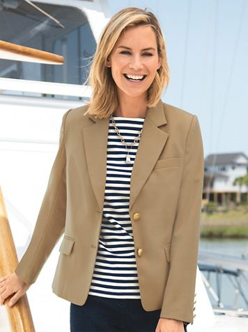 Appleseed's Classic Wool Blazer - Image 1 of 7