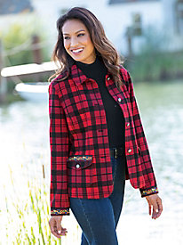 Salzberg Plaid Jacket