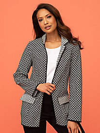 Reversible Jacquard Jacket