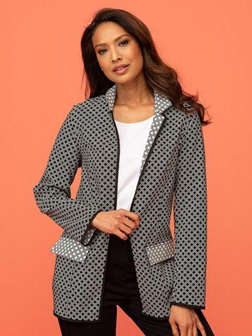 Reversible Jacquard Jacket - Image 1 of 2