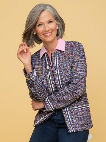 Denim Friendly Tweed Jacket - Image 5 of 5