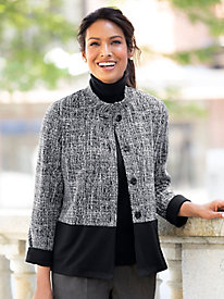 Knit Textured Jacket