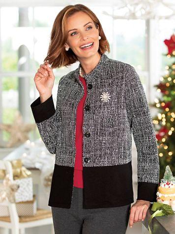 Knit Textured Jacket