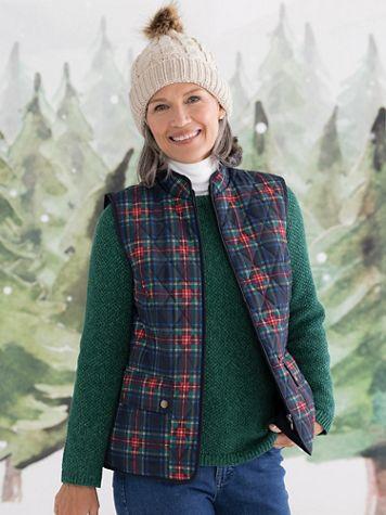 Quilted Tartan Vest - Image 1 of 3
