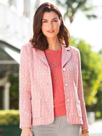 Ribbon Tweed Jacket