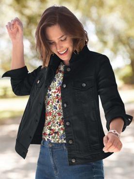 DreamFlex Colored Jean Jacket