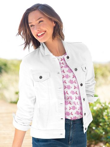 DreamFlex Colored Jean Jacket - Image 4 of 6