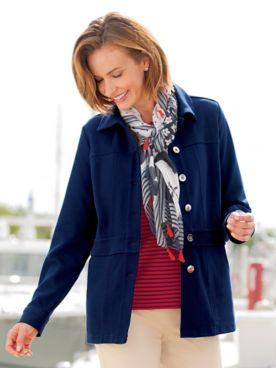 Knit Nautical Jacket