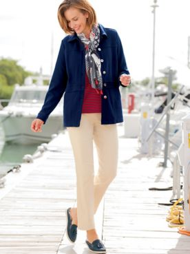 Knit Nautical Jacket