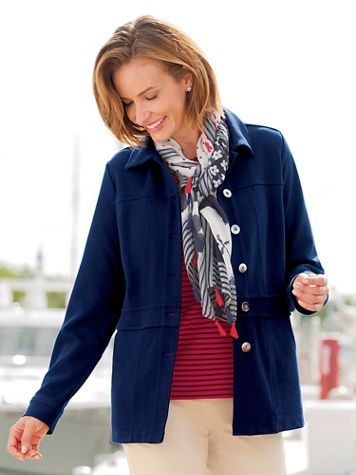 Knit Nautical Jacket - Image 4 of 4