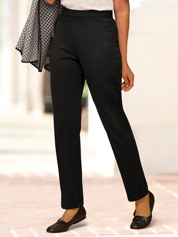 Ponte Pull On Pants - Image 1 of 7