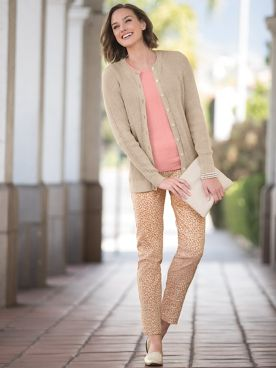 Slim-Sation Confetti Pants