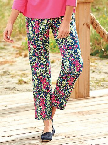 Floral Ankle Pants - Image 3 of 3