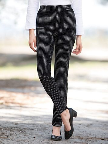 Tribal Perennial Beauty Pull On Pants - Image 2 of 2
