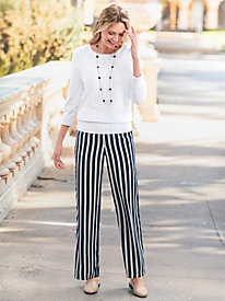 Stripe Soft Pants