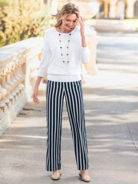 Stripe Soft Pants