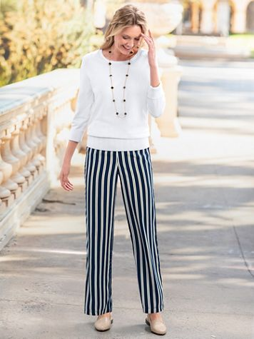 Stripe Soft Pants - Image 5 of 5