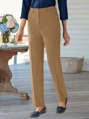 Bi-Stretch Fly-Front Pant - Image 1 of 9