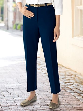 Bi-Stretch Ankle Pants - Image 1 of 2