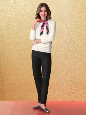 SlimSation® Holiday Dot Pants