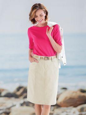 Dennisport Twill Skirt