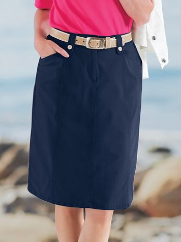 Dennisport Twill Skirt - Image 1 of 3